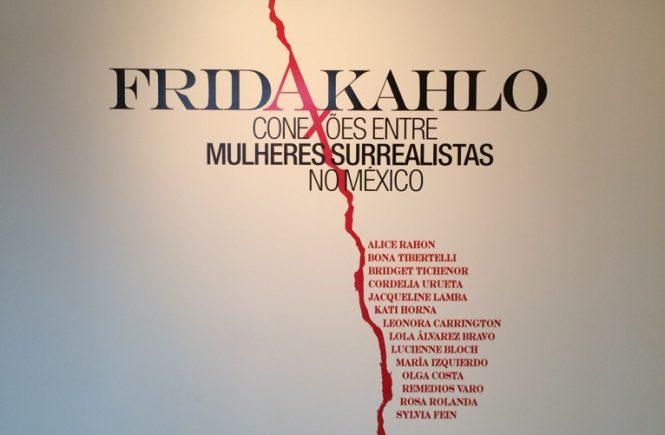 Cartaz da exposição Frida Kahlo