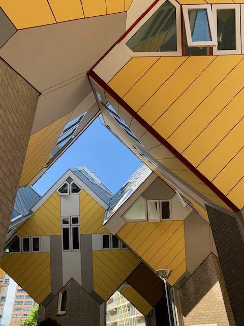 Casas cubo. Roterdã, Holanda
